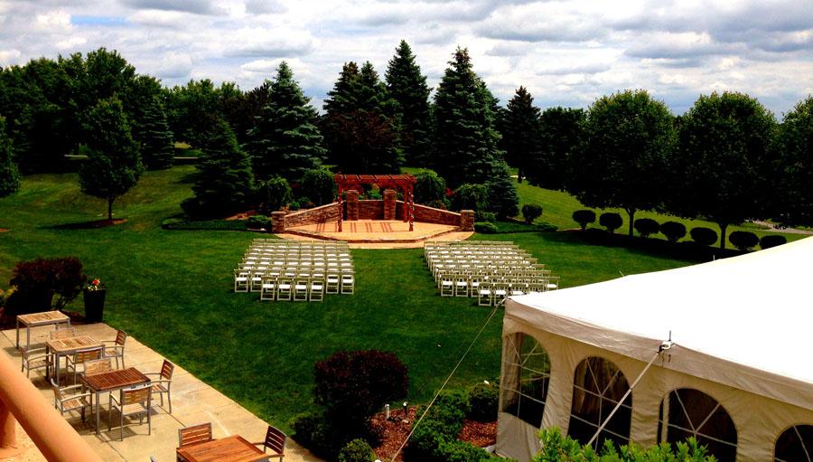 Ann Arbor Area Outdoor Wedding Venue At