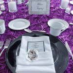Ann Arbor Wedding elegant table setting Eagle Crest