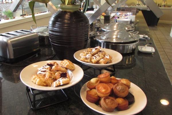 Breakfast pastries Eagle Crest Brunch