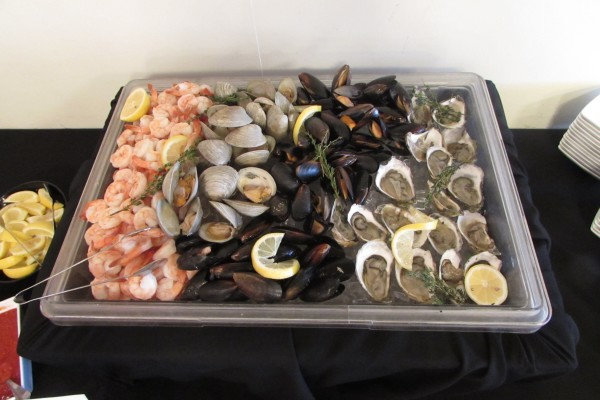 Fresh shrimp, oysters, mussels, clams Eagle Crest Brunch