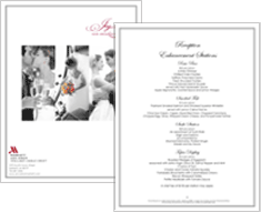 Screenshot of Wedding Pages