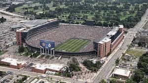 Michigan football stadium full of people