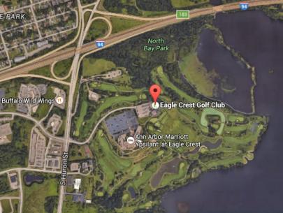 Screenshot of Eagle Crest Resort on google maps