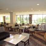 Picture of inside of The View Restaurant with tables and places settings