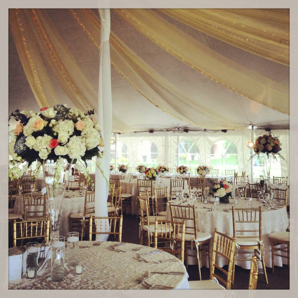 Wedding Outdoor Inside Tent