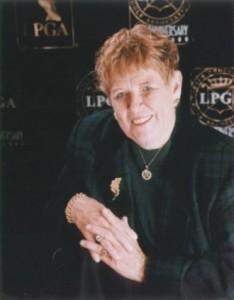 Shirley Sport LPGA golfer